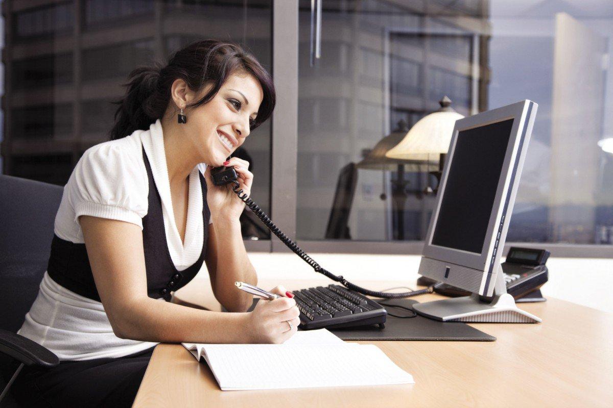 Звонок в офис